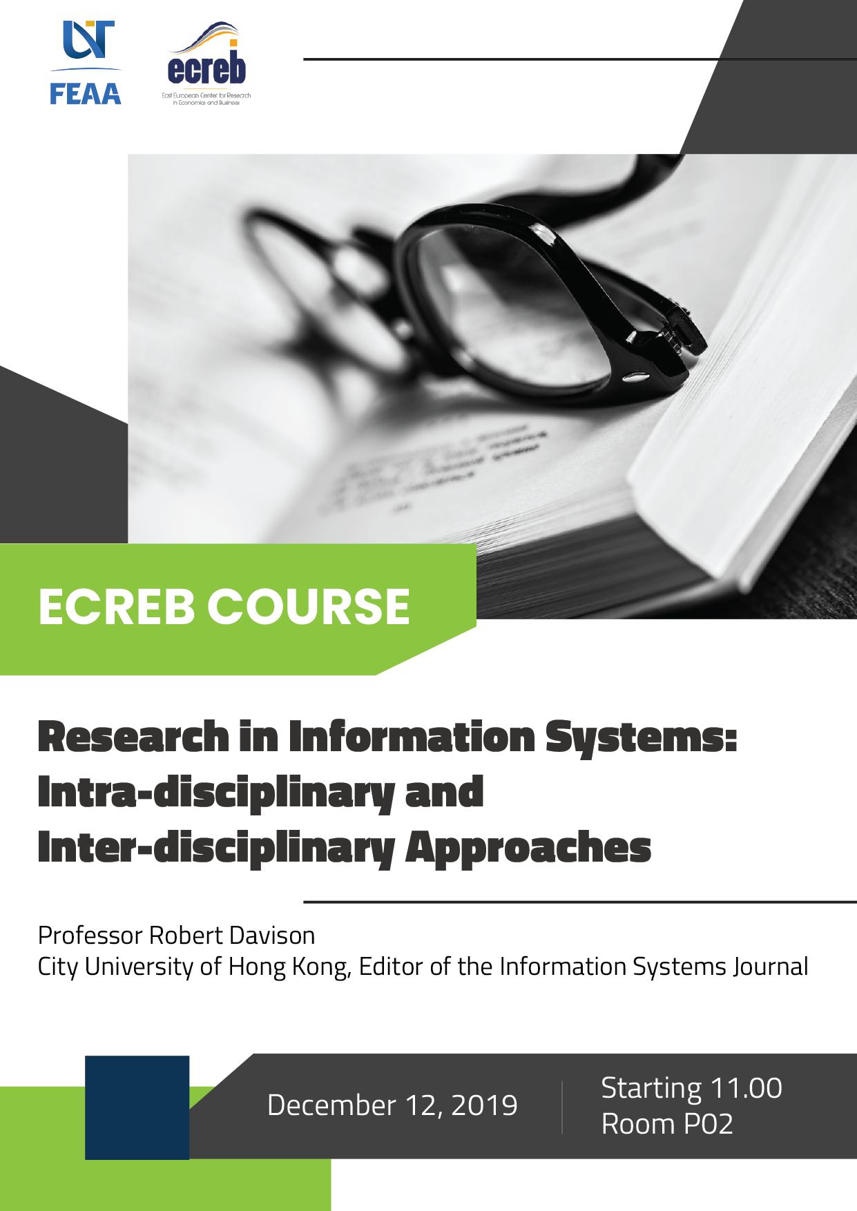 Ecreb Course Professor Robert Davison (1)